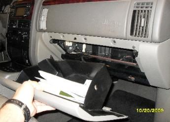 Grand Cherokee Heater Blend Doors Installation